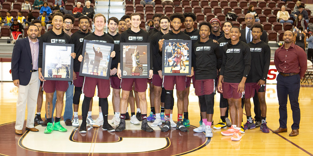 The 2018-19 Centenary Gents senior class is one of only two classes to have qualified for the SCAC Tournament every season/