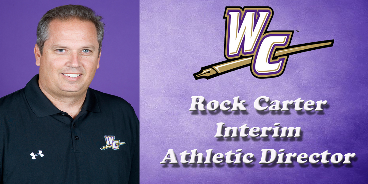 Rock Carter Appointed Interim Director of Athletics