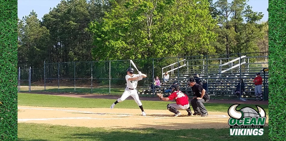 Vikings Explode in 8th to Power Past Atlantic Cape CC, 6-0