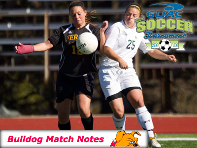Ferris State Women's Soccer Notes - Match 19