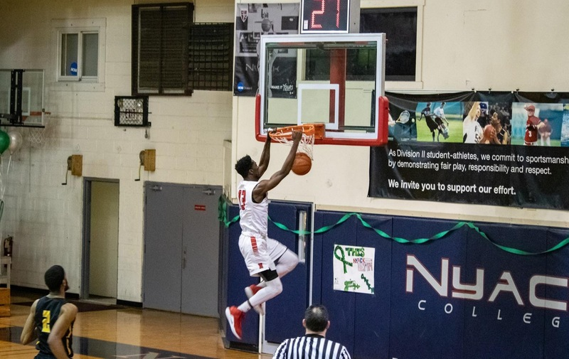 Men's Basketball Falls to Bloomfield Despite Strong First Half