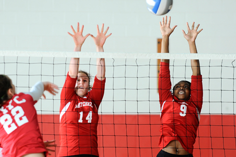 Volleyball Falls 3-0 at ECSU