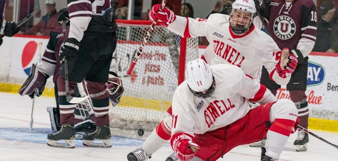 Three unanswered goals propels Cornell past Union in Game 3