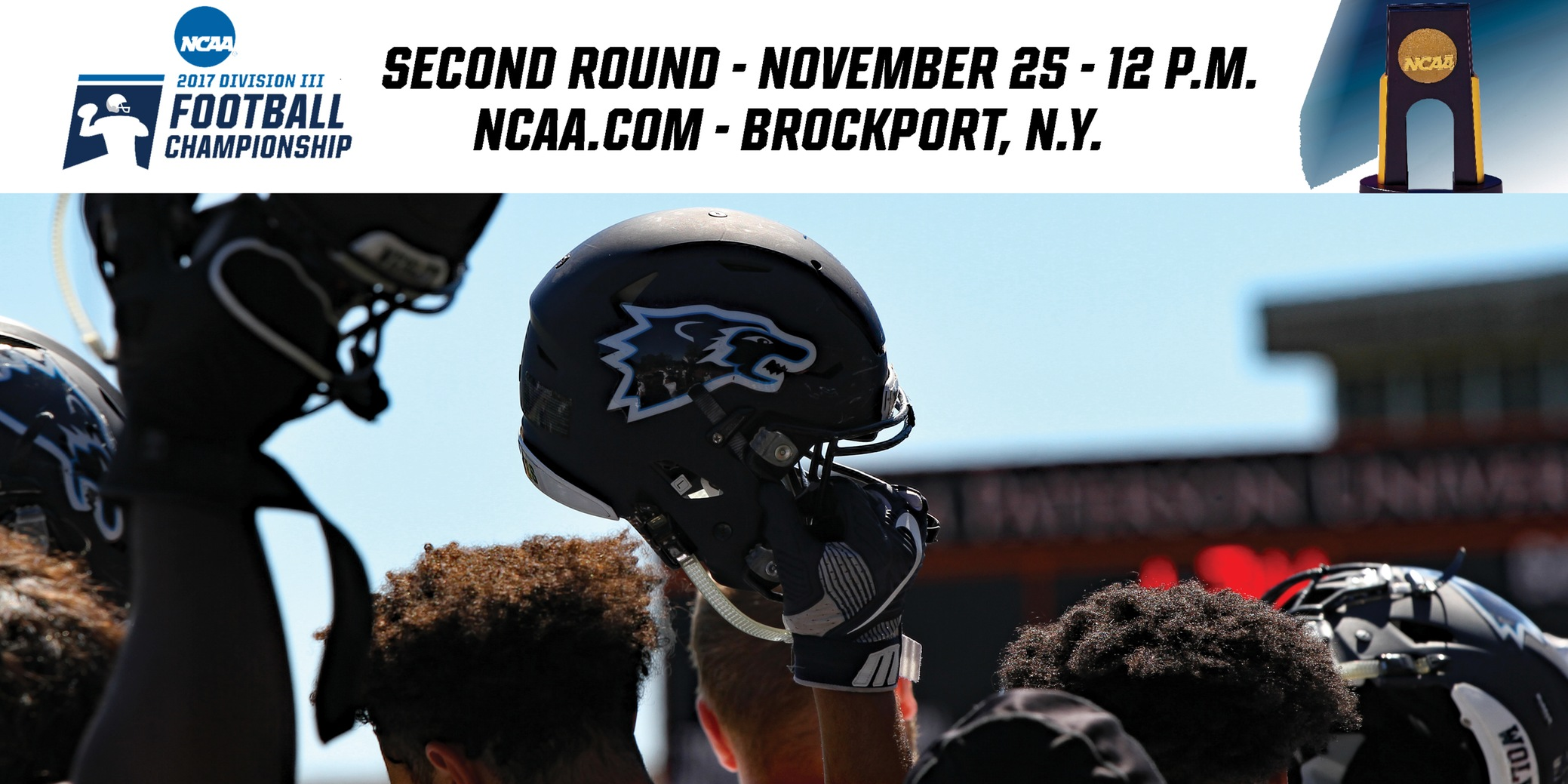 No. 13/13 Wesley Football NCAA Second Round Game Notes vs. No. 10/11 Brockport