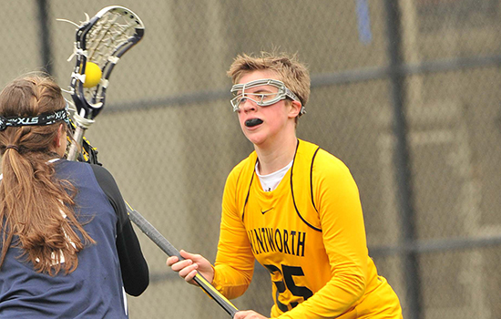 Wheelock Pulls Away From Women's Lacrosse