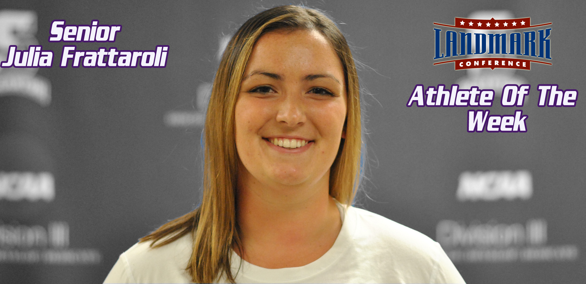 Julia Frattaroli Nabs Landmark Conference Women's Tennis Athlete of the Week Honors