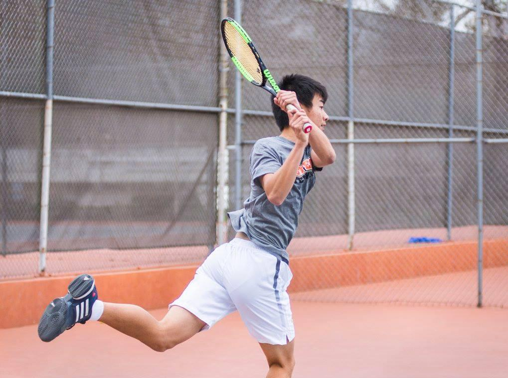 Men's Tennis Handles George Fox to Finish Non-Conference Slate