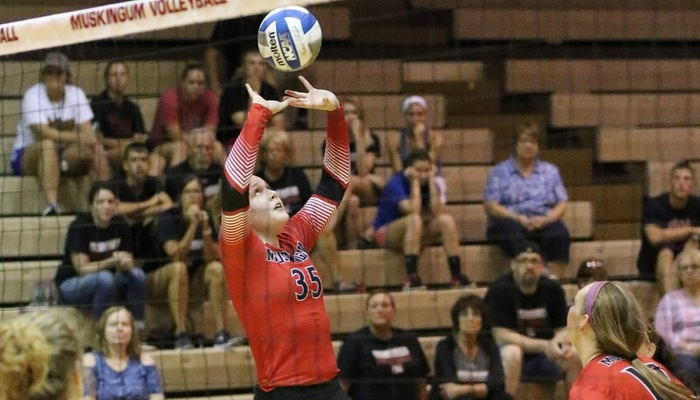 Volleyball Tripped Up at NCAA DIII #21 Ohio Northern
