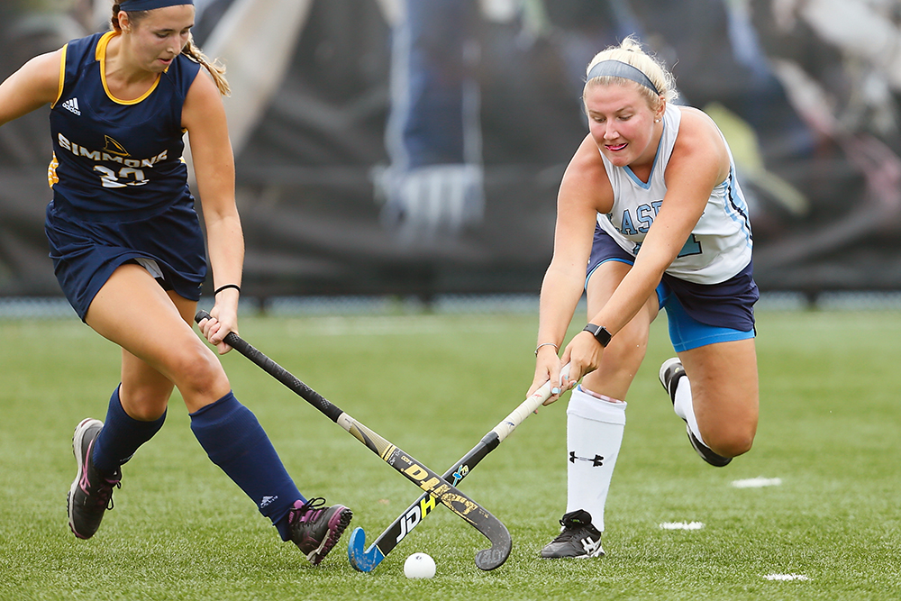 Lasell Field Hockey drops showdown to St. Joe's in regular season finale