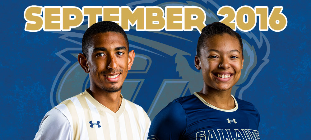 Thomas and Gutierrez chosen as September Bison of the Month presented by GIS