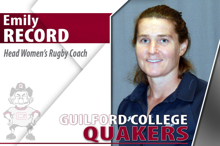 Emily Record Named Head Women's Rugby Coach at Guilford College