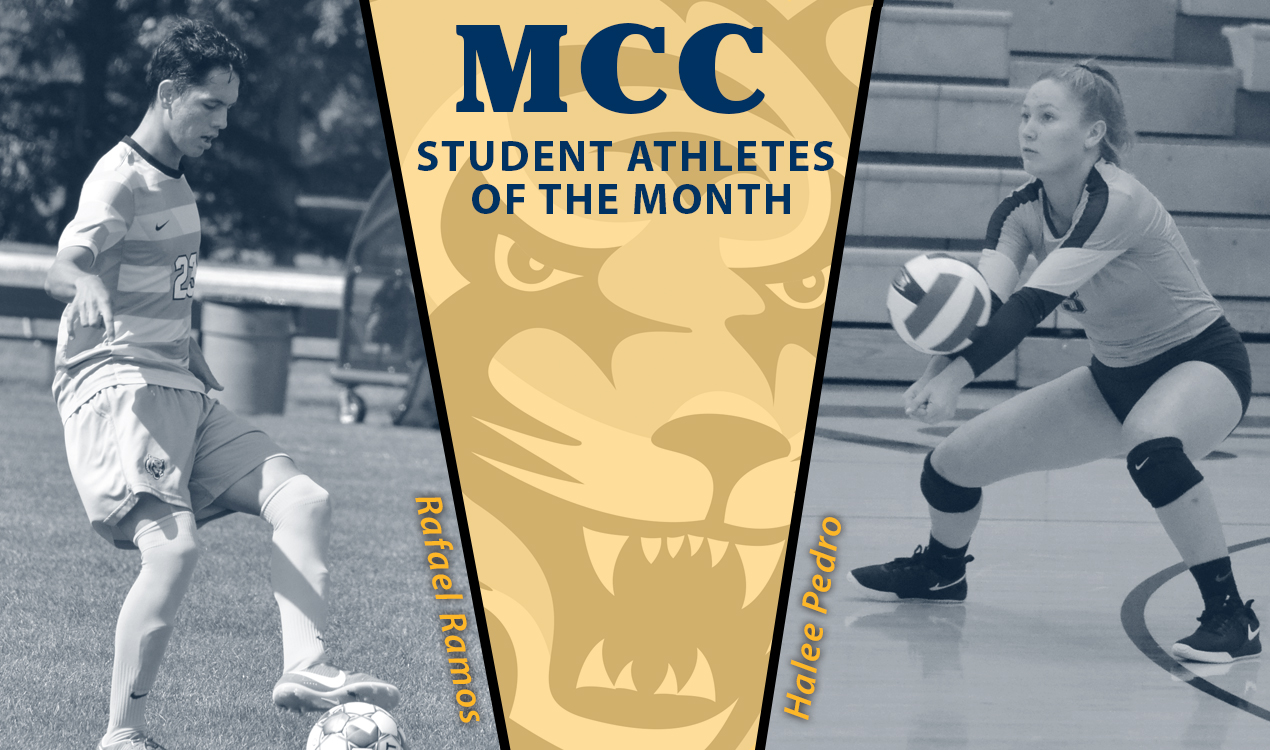 Ramos and Pedro named October Student-Athletes of the Month