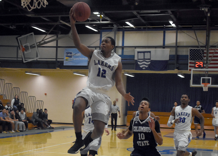 Lakers fall just short at home to Columbus State, 64-62
