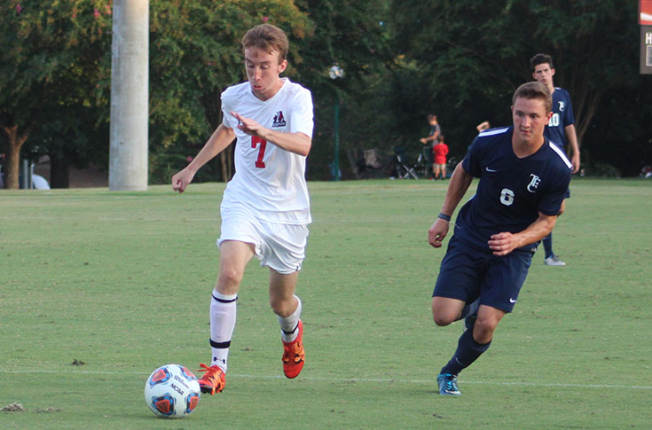 Men's Soccer: Panthers blank Toccoa Falls 4-0 to pick up first win of 2016