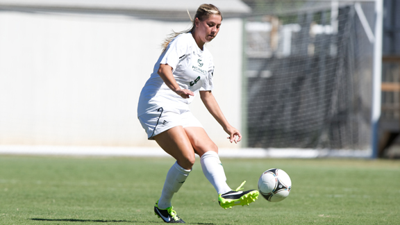 WOMEN'S SOCCER PLAYS FIRST BIG SKY ROAD MATCHES THIS WEEK