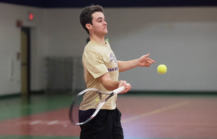 Men's Tennis Concludes Fall Slate with 5-4 Setback at Gordon