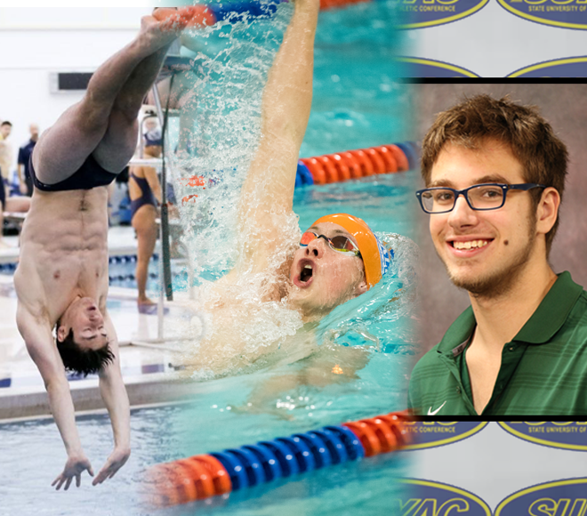 SUNYAC Men's Swimming and Diving Yearly Awards Announced