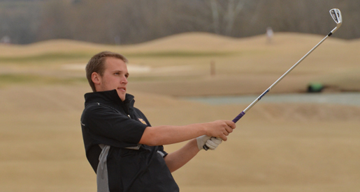 Men's golf team eighth after first two rounds of Miller Memorial Invitational