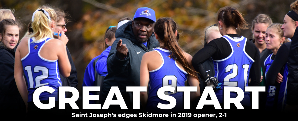Saint Joseph's Edges Skidmore in 2019 Opener, 2-1