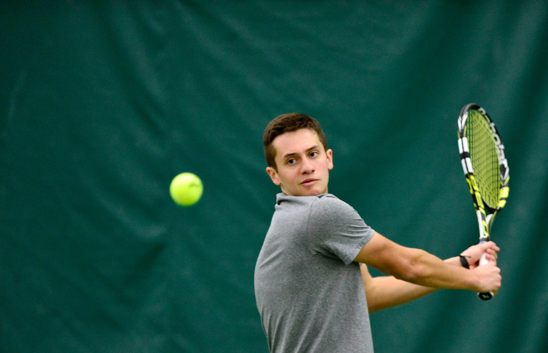 Men's Tennis Falls To Franciscan in Regular-Season Finale