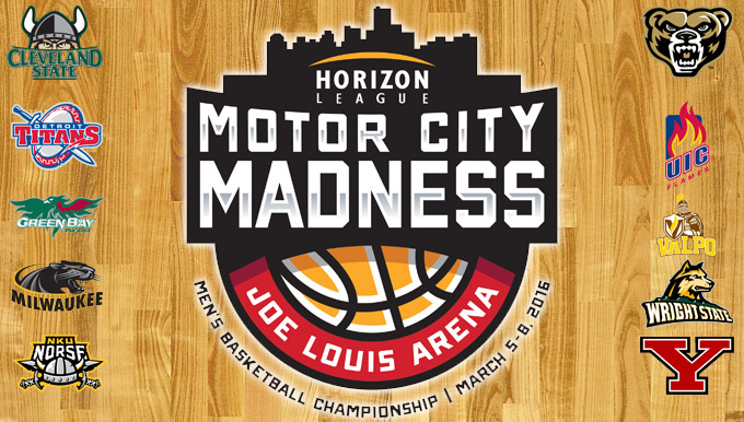 "Horizon League ""Motor City Madness"" Tickets On Sale Thursday, December 10"