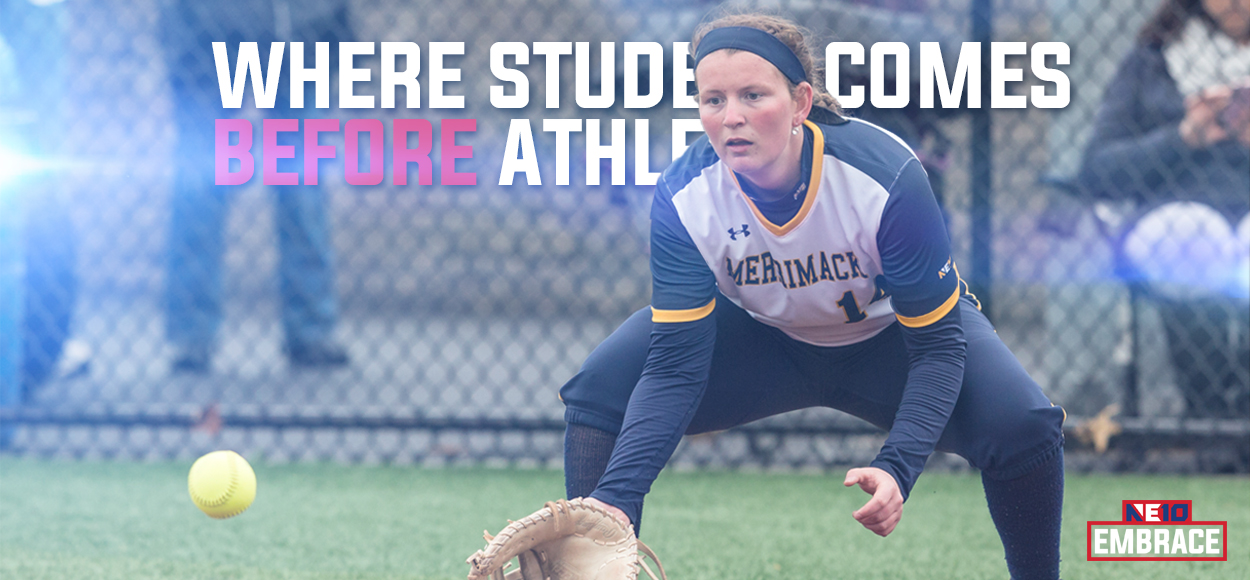 Embrace The Learning: Merrimack's Alyssa Williamson Headlines NE10 Academic All-American Selections