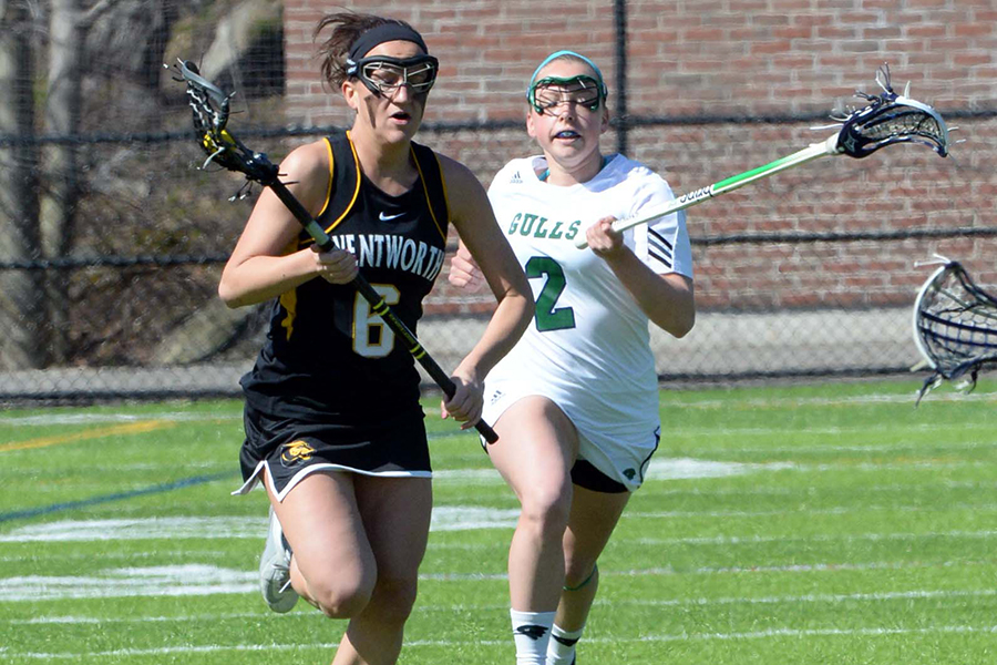 Paradis' Record-Setting Game Lifts Women's Lacrosse Past MCLA