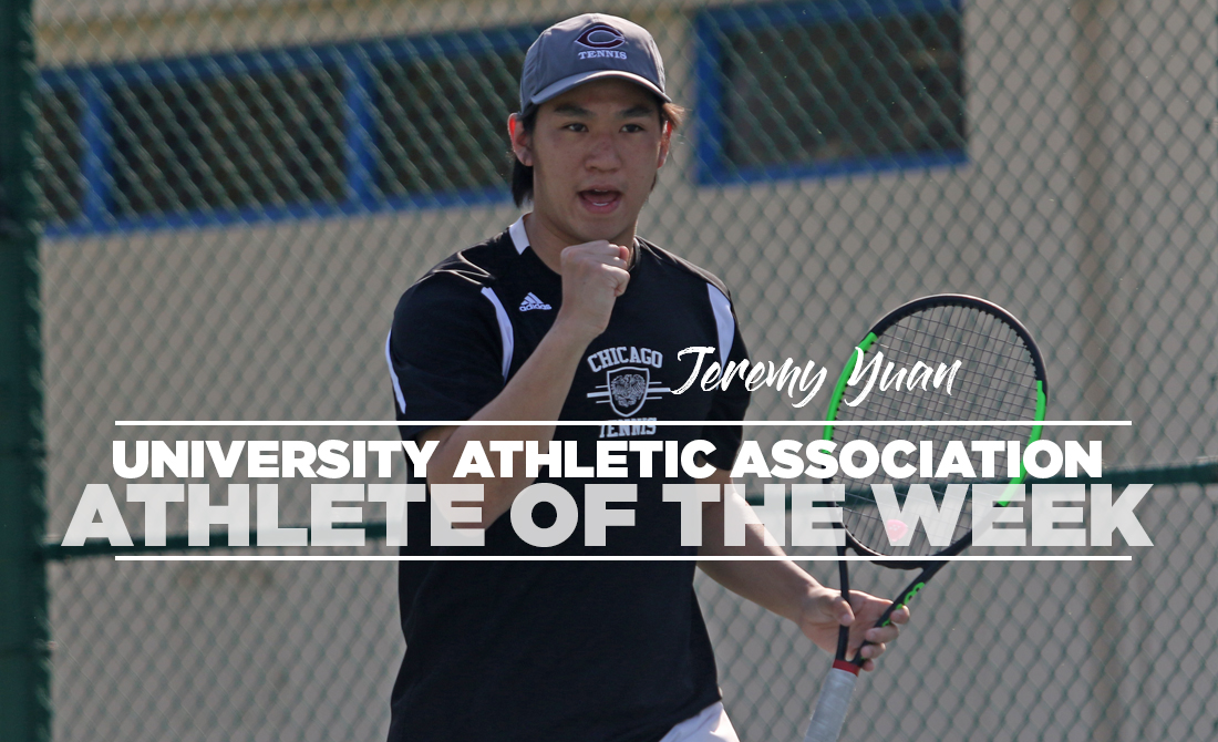 Yuan Claims UAA Athlete of the Week for Third Time