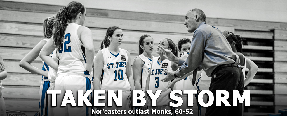 Nor'easters Hold Off Monks, 60-52