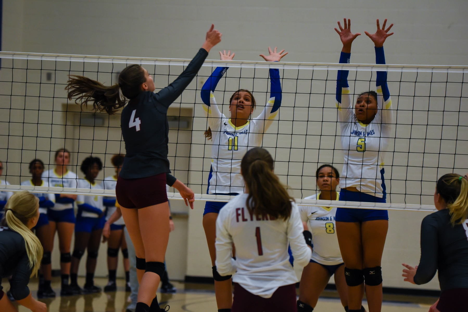 Volleyball Claims Season Sweep over Sandhills