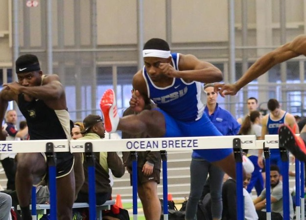 Alston Claims School Record, Men's Track and Field Shine at BU Terrier Classic Saturday