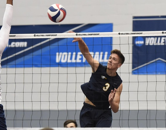 Men's Volleyball Eliminated in NCAA Tournament First Round