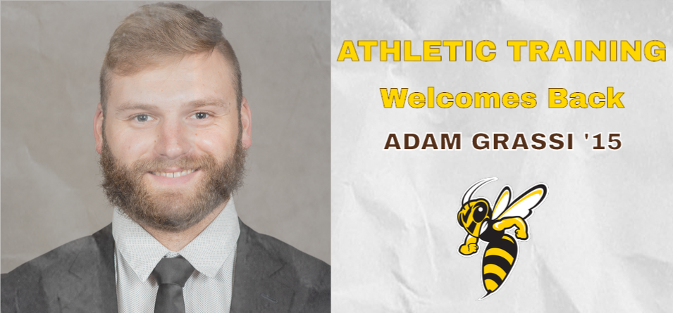 Grassi '15 Named Assistant Athletic Trainer