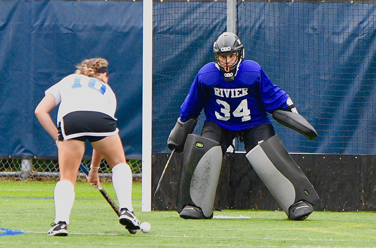 Field Hockey: Olsen's 12 saves helps Rivier bounce Simmons in OT, 1-0