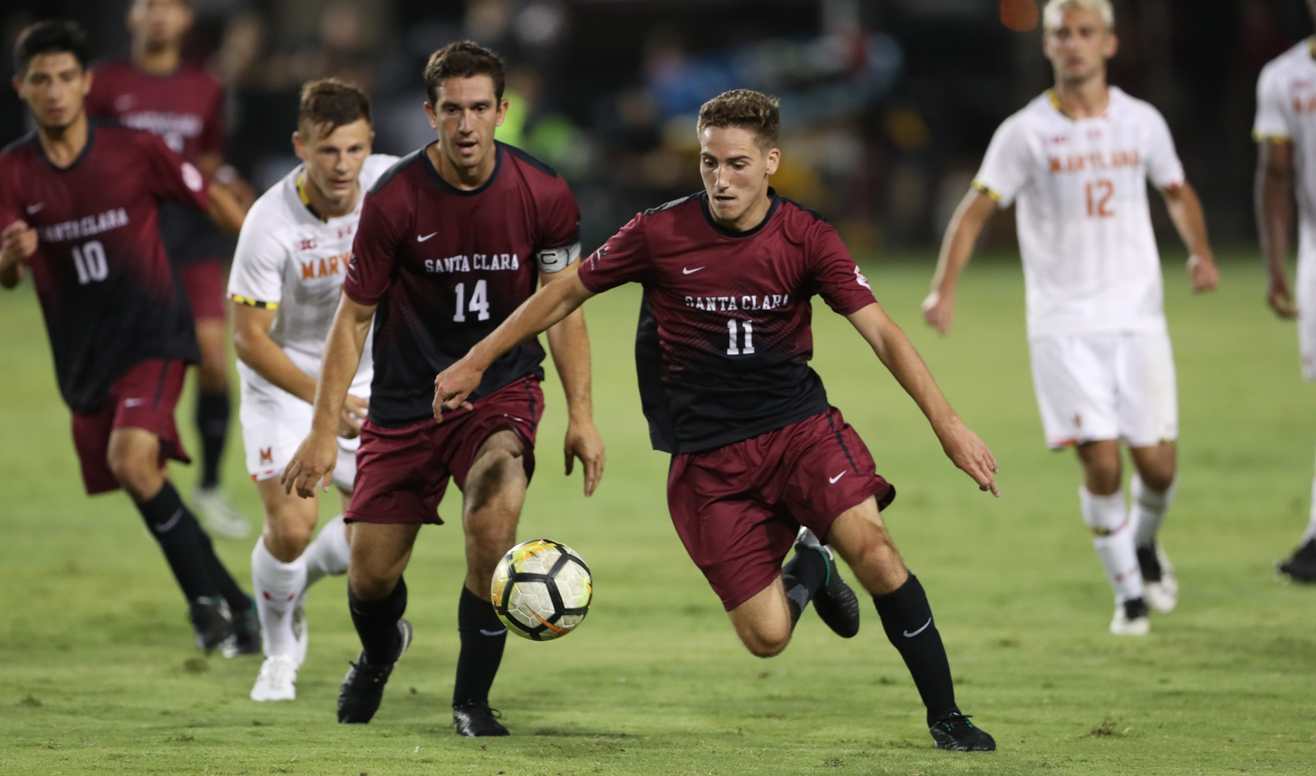 Men's Soccer Downs Saint Mary's To Improve To 2-0 In WCC Play