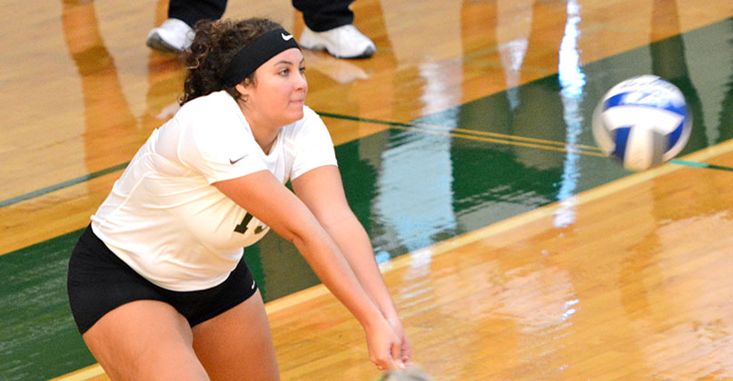 Improved season comes to end for @DubC_Volleyball