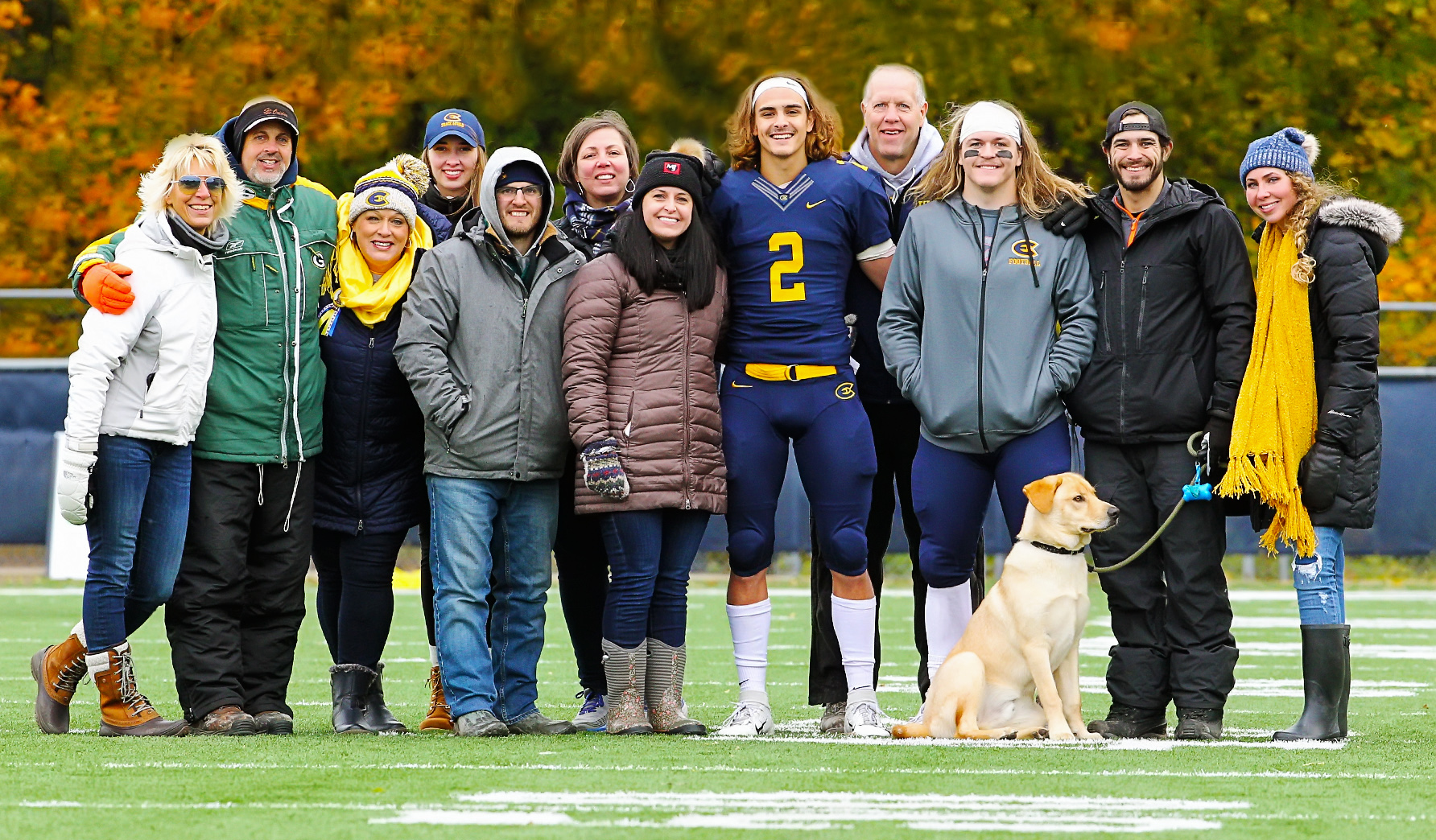 Blugold Game Day - A Family Affair for the Burzynski Family