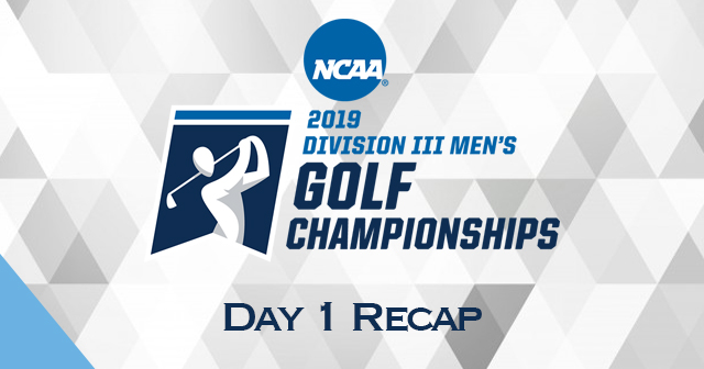 NCAA Men's Golf Championship - Day 1 Recap