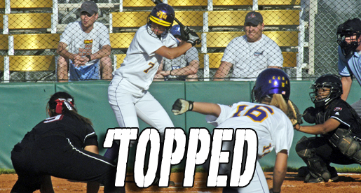 Golden Eagle offense struggles as Lady Toppers take the day