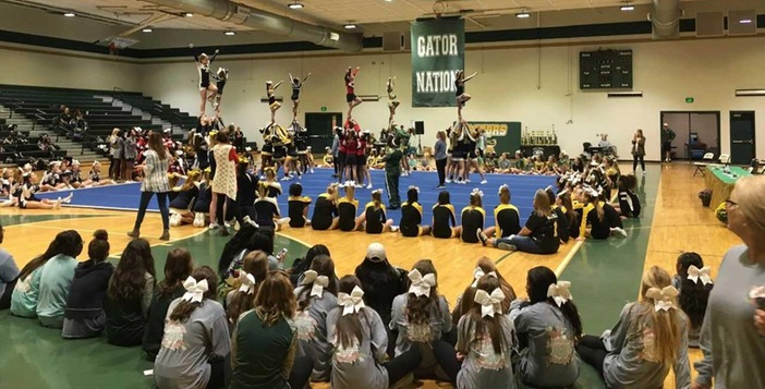 Ware Hosts Successful Cheerleading Competition