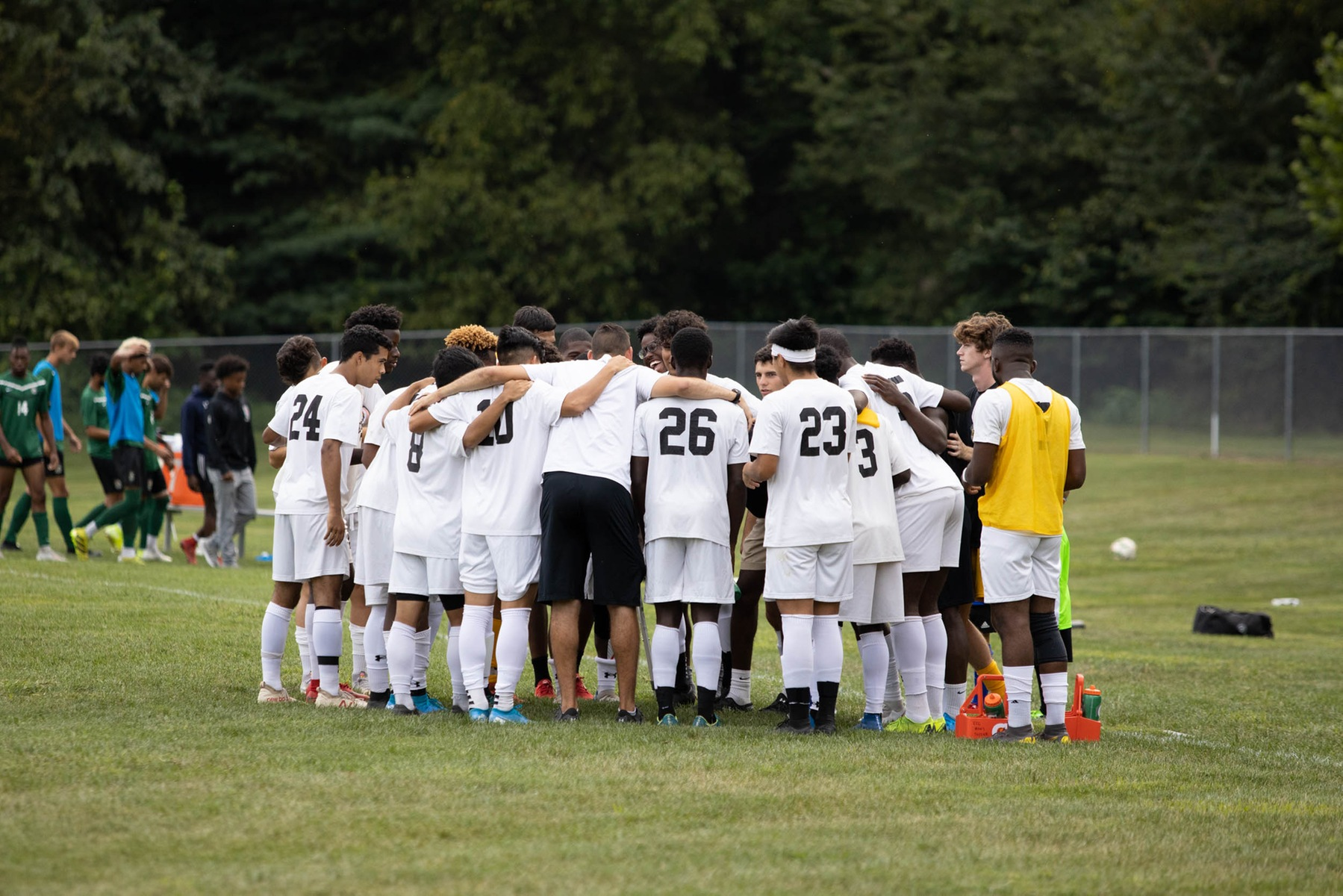 Men's soccer suffers first setback of season