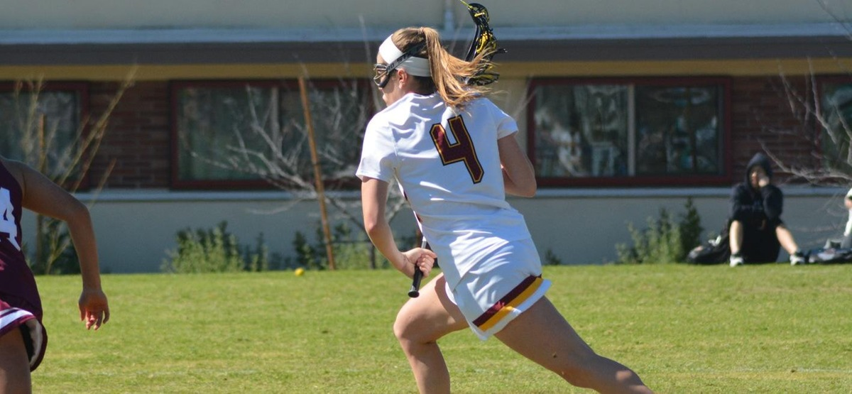 Senior Corie Hack scored four goals in a 12-6 road win over Occidental.