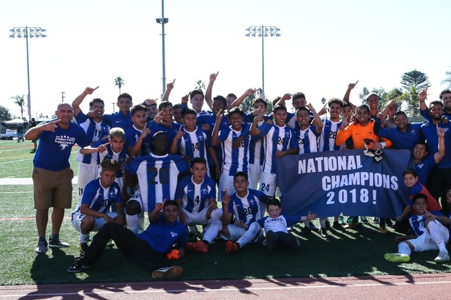 Cerritos was officially named the National Champions