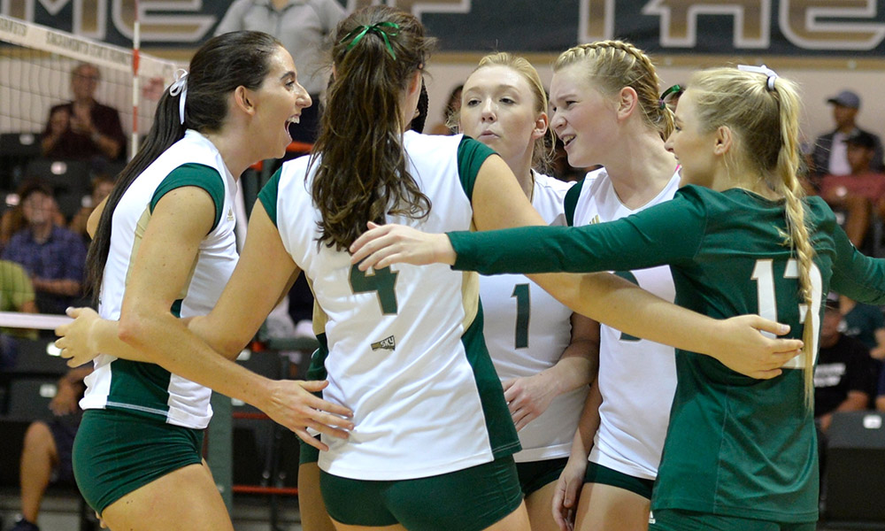 WINNING STREAK AT 6 STRAIGHT! VOLLEYBALL DOWNS NEVADA ON THE ROAD, 3-1