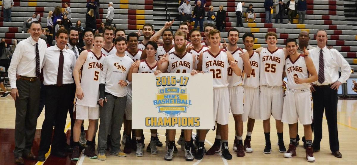 Stags headed to NCAAs with program's fifth SCIAC tourney title