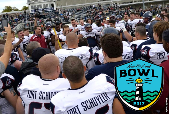 SUNY Maritime to Represent ECFC in 2017 New England Bowl Series