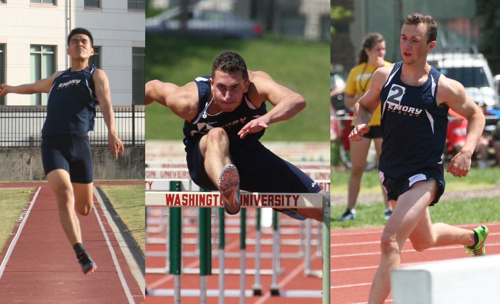 Emory Men's Track & Field Trio Named to CoSIDA Academic All-District Team