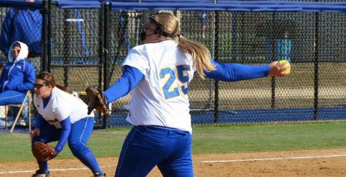 Perkins shuts out SUNY Potsdam, Softball splits on final day in Florida