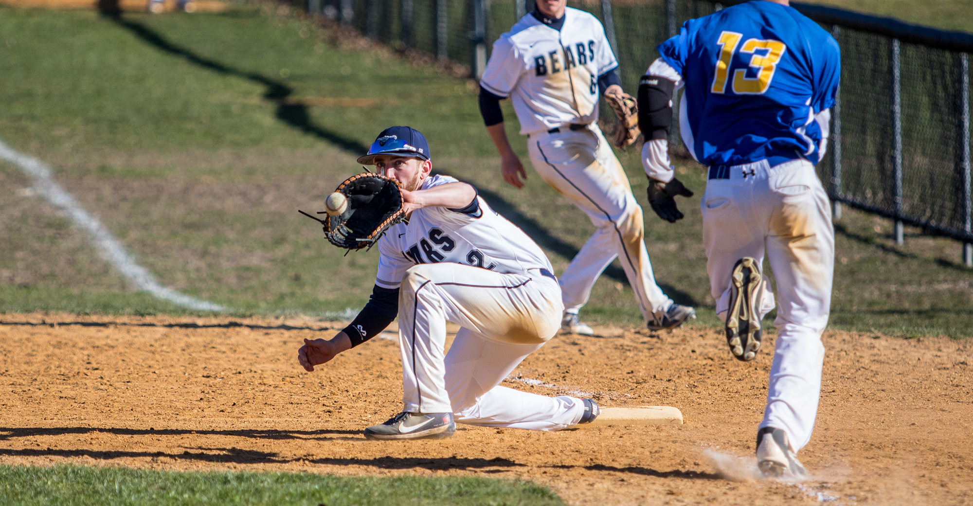 Baseball Walks Off With Comeback Win in Extras in Split With SUNY Poly