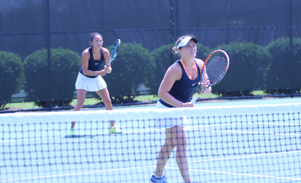 Run Ends for Bridget Harding & Katarina Su in NCAA Division III Doubles Semifinals
